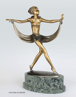 Art Deco bronze by Josef Lorenzl