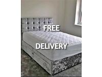 🇬🇧 New divan LUXURY BEDS * Made in the UK * FREE DELIVERY AND HEADBOARD 🇬🇧
