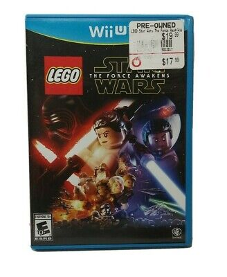 LEGO Star Wars: The Force Awakens (Nintendo Wii U, 2016) Complete in Box