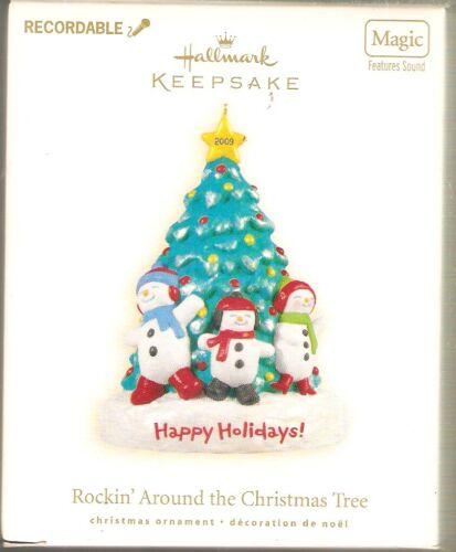 2009 Hallmark  Rockin Around the Christmas Tree   Magic Sound  Recordable