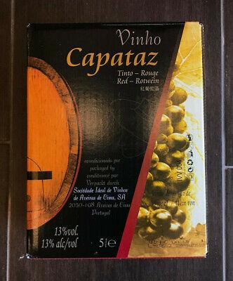 Capataz Vinho tinto trocken Portugal Bag in Box Rot Wein BiB 5L Liter