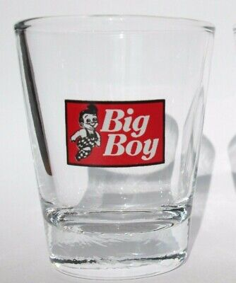 Bob's Big Boy Logo Shot Glass