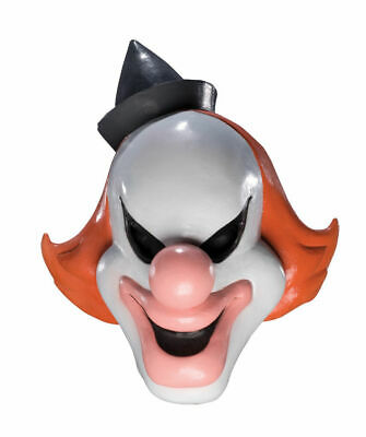 Licensed Scooby Doo DELUXE ADULT LATEX GHOST CLOWN -