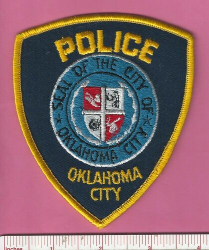Oklahoma City State of OK Capital City Law Enforcement Police Shoulder Patch
