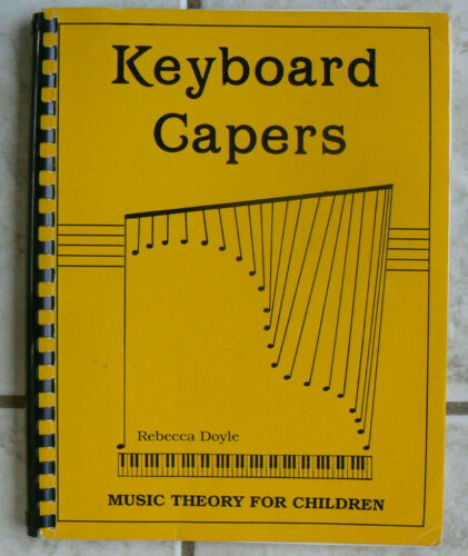 Keyboard Capers: Music Theory for Children,Rebecca Doyle,plastic comb,LN! Fun Ac