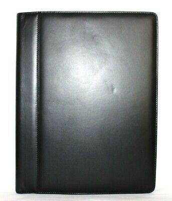 Foray Genuine Leather Padfolio Writing Pad Cover Organizer Excellent Lk