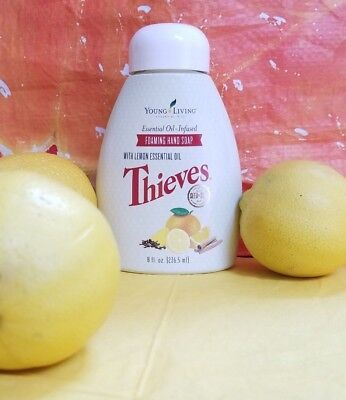 Young Living Thieves Foaming Hand Soap - 8oz. Includes Pump - Free Shipping