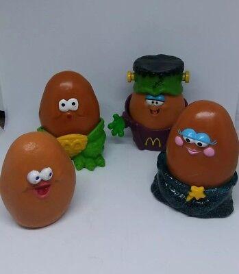 Halloween Chicken Meals (Vintage McDonalds Halloween Chicken Nuggets 90's Happy Meal Toys FREE)