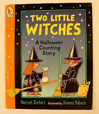 Two Little Witches A Halloween Counting Story By Harriet Ziefert Childrens Book - History Witches Halloween