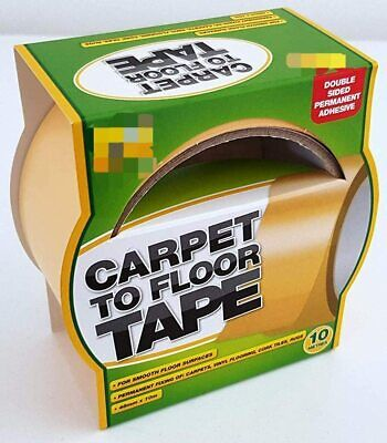 Carpet To Floor Tape 10m Double Sided Strong Reliable Orignial Product