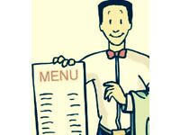 Waiter/Waitress Required For a busy Italian Restaurant