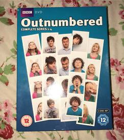 Outnumbered series 1-5 and 2X Christmas Specials