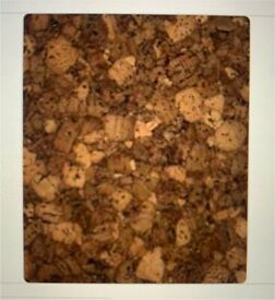 Acoustic Cork Wall Tile colour -Midnight-