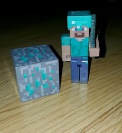 Minecraft Diamond Steve set