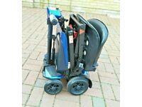 DRIVE MANUAL FOLDING FREE DELIVERY UP TO 80 ml FROM LONDON, 4 MONTHS OLD SCOOTER