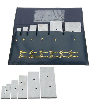 6 Pc 38 - 2-14 Adjustable Parallel Set Precision Parallel Measurement