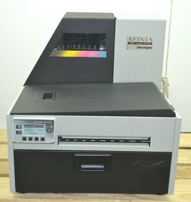 Afinia L801 Memjet Commercial Digital Color High Speed Label Printer Tested