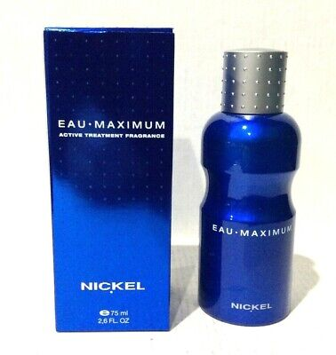 Eau Maximum by Nickel 2.6 oz / 75 ml active treatment fragrance spray men -