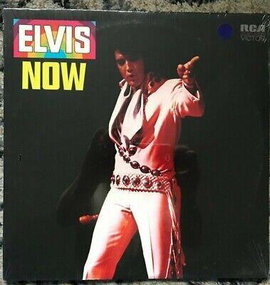"ELVIS PRESLEY ""Elvis Now"" FACTORY SEALED LP ON RCA LSP 4671"