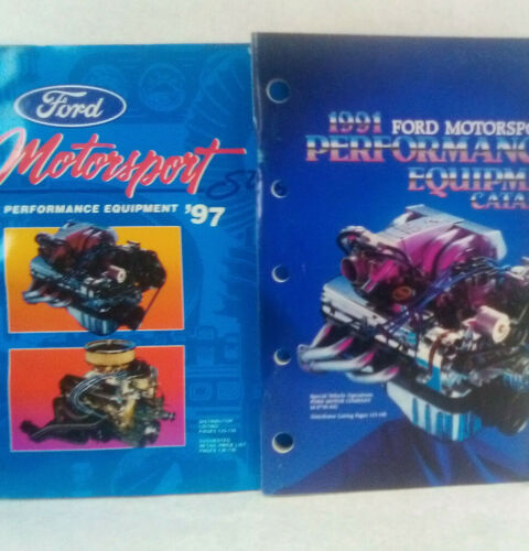 Lot of 2 Ford Racing performance parts catalogs 1991 &1997
