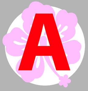 jeune conducteur fleur rose disque obligatoire 150mm autocollant sticker aa135. Black Bedroom Furniture Sets. Home Design Ideas