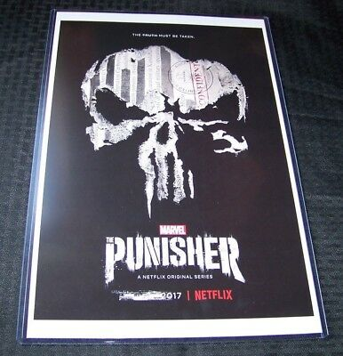 The Punisher 11X17 Netflix TV Poster