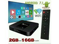 Tx3 ANDROID TV BOX. 16GB FASTEST SMART TV. 4K ULTRA HD