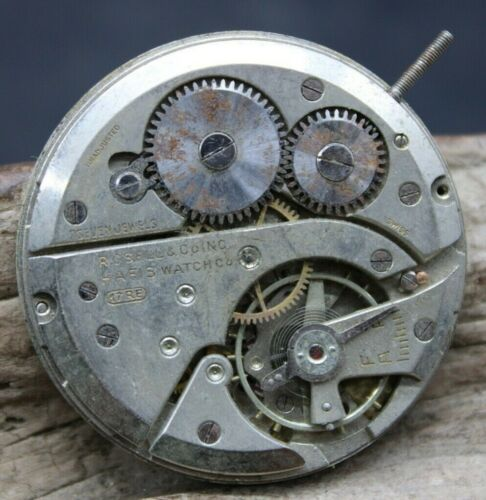 ROSELL & Co. Hafis Pocket Watch Movement Balance 38.8mm 17RE Swiss Darby (J2Q3)