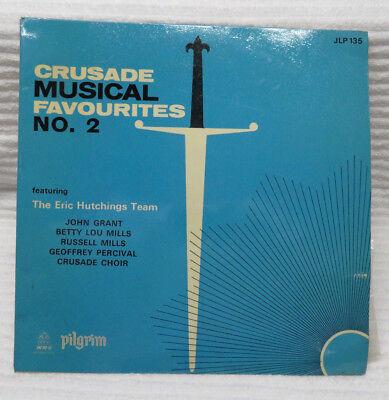 "CRUSADE MUSICAL FAVOURITES ERIC HUTCHINGS JOHN GRANT 12"" VINYL RECORD"