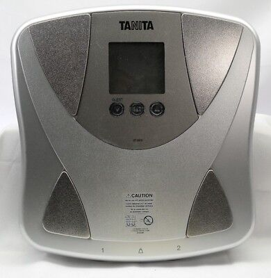 BF-680W Tanita Duo Scale Body Fat Monitor Silver Pre Owned Tested TH