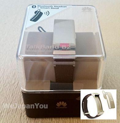 Huawei Wearable Activity meter Smart Watch TalkBand B2 Gold Japan Model +Trackin