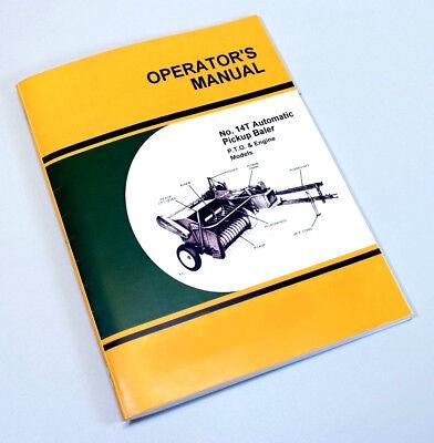 Operators Service Manual For John Deere 14t Hay Baler Knotter Adjustment Timing