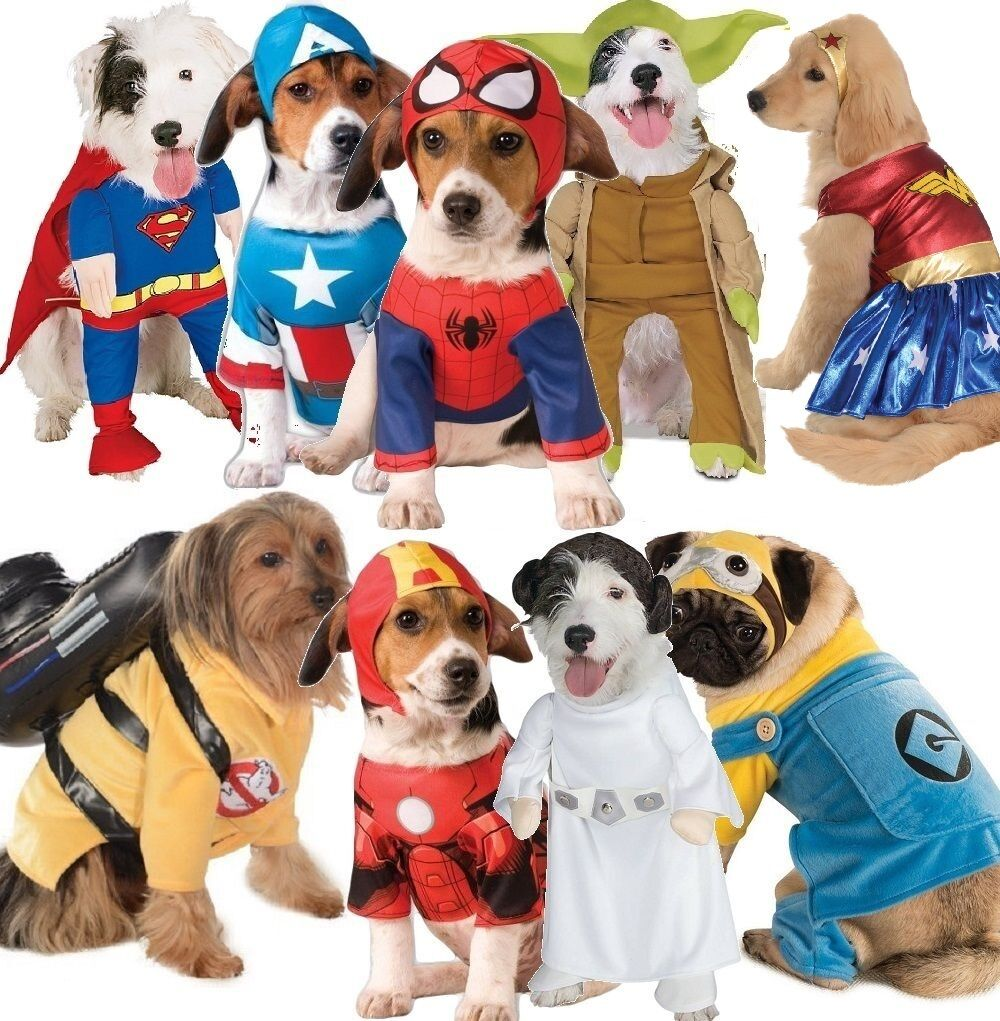 Pet Dog Cat Superhero Christmas Gift Halloween Party Fancy Dress Costume Outfit 2