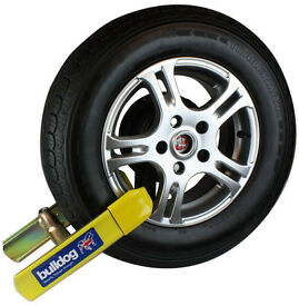 Bulldog Euroclamp Security Wheel Clamp - Car Caravan Security