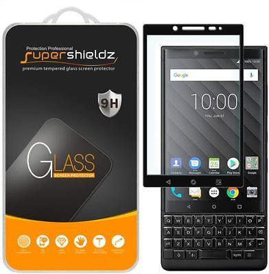 2X Supershieldz for Blackberry Key2 Full Cover Tempered Glass Screen -
