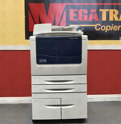 Xerox 5855 Workcentre Black White Multifunction Copier Printer Scanner