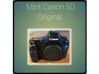 Canon 5D Original camera & accessories