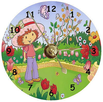 Strawberry Shortcake Cd Clock