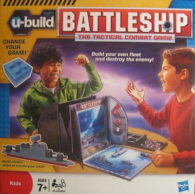 U-build Battleship Navel Combat Family Game Of Boats Brand By Hasbro