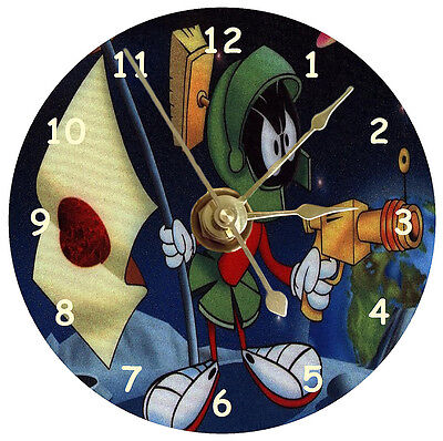 Marvin The Martian In Space Cd Clock