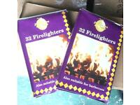 Firelighters - 60 pence a box or £1.00 for 2 boxes