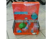 Unusual hamster cage