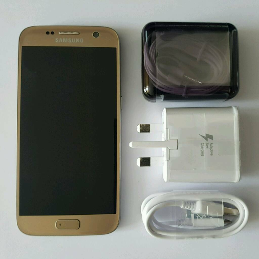 Samsung Galaxy S7 32gb - Gold ( EE)