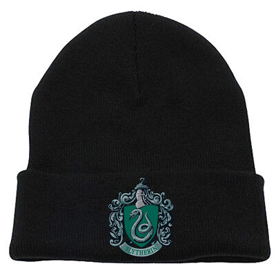Harry Potter 'Slytherin Crest' Beanie Hat - NEW - Slytherin Hat