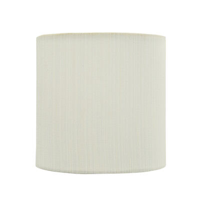 "Aspen Creative 31192 Drum Clip-On Lamp Shade,Eggshell, 5"" wi"