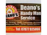 Deanos Handy man service