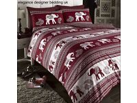 EMPIRE WINE KINGSIZE DUVET SET