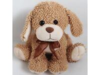Light Brown & Cream Dog Puppy Soft Toy / Plush