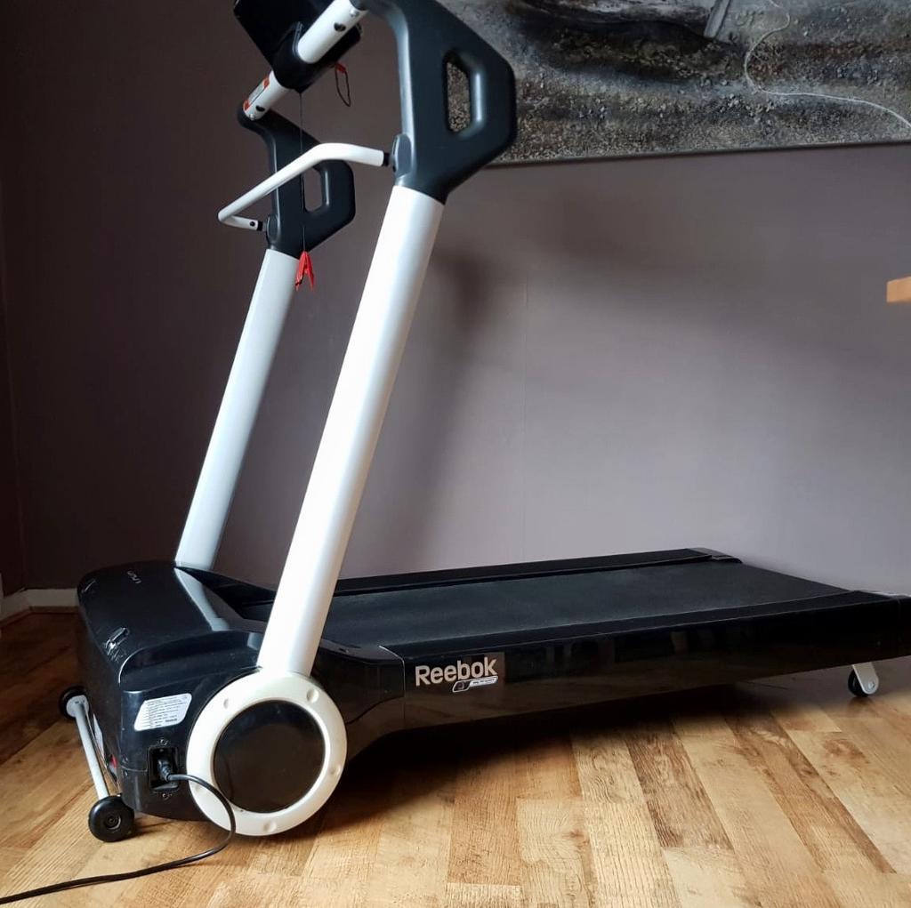 Reebok i-run s treadmill sweatband. Com.