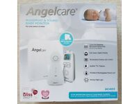 New Angel Care Movement & Sound Baby Monitor AC403